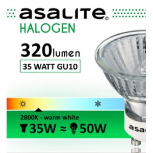 ASALITE BEC HALOGEN LAMPA GU10 35W 320 LUMEN
