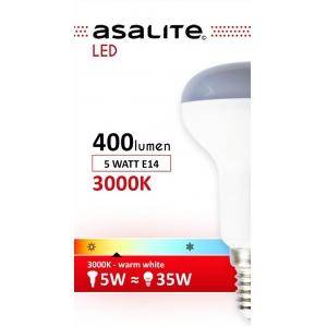 ASALITE BEC LED MINI GLOB 5W E14 3000K 400 LUMEN