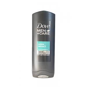 DOVE MEN CARE AQUA IMPACT GEL DE DUS 250 ML.