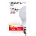 BEC LED ASALITE GLOB A60 12W 3000K 1055 LUMEN
