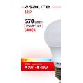 BEC LED GLOB ASALITE A60 7W 3000K 570 LUMEN