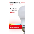 BEC LED GLOB ASALITE A60 9W 3000K 810 LUMEN