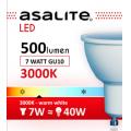 ASALITE BEC LED SPOT 7W GU10 3000K 500 LUMEN