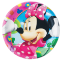 FARFURII DIN CARTON MINNIE MOUSE - DISNEY 19.5CM 10 BUC.