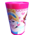 PAHAR DIN PLASTIC PRINCESSES - DISNEY 250ML