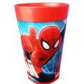 PAHAR DIN PLASTIC THE ULTIMATE SPIDER-MAN 250ML