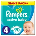 SCUTECE PAMPERS ACTIVE BABY DRY 7-14 KG. 90BUC (4)