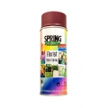 SPRAY DECORATIV SPRING BURGUNDY RED 400 ML.